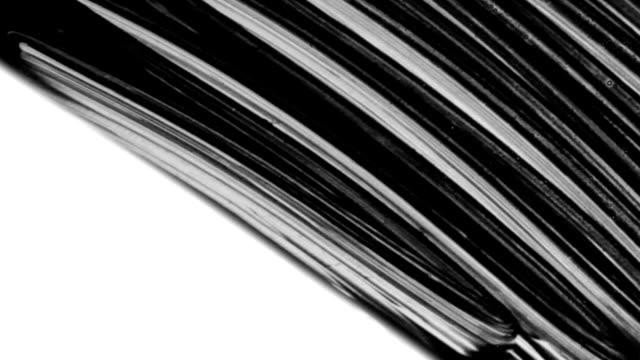 Schwarze Farbe-Waschung, mit starken