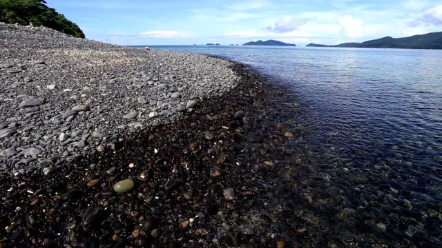 Black Kiesel island in der Nähe der Insel Koh Lipe, Thailand