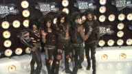 Black Veil Brides at the 2011 MTV Video Music Awards at Los Angeles CA