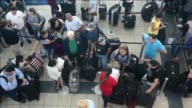 A blackout in Panama's main international airport a major hub for Latin America caused many flight cancelations and delays on Monday airport sources...