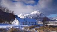 Blackrock Cottage and Buachaille Etive Mor.