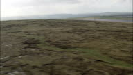 Blackstone Edge Roman Road  - Aerial View - England,  helicopter filming,  aerial video,  cineflex,  establishing shot,  United Kingdom