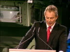 Blair calls for British military intervention to combat terrorism Blair speech on board HMS Albion However if we make that choice then as we...
