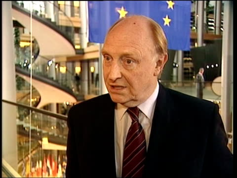 Blair UTurn on EU referendum ITN INT Neil Kinnock interviewed SOT The Murdoch press have been rabid in their campaigning they are campaigning for the...