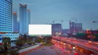 Leeren Bildschirm Billboard in Bangkok