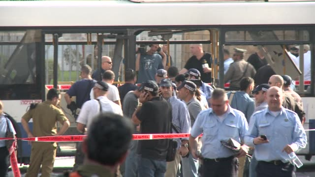 A blast ripped through a bus in Tel Aviv on Wednesday injuring 17 people in what Israel said was a terrorist attack further vexing international...