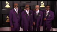 Blind Boys of Alabama at the 59th Annual Grammy Awards Arrivals at Staples Center on February 12 2017 in Los Angeles California 4K