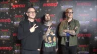 KTLA Blink 182 at KROQ's Almost Acoustic Christmas