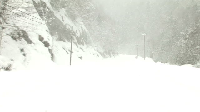 Blizzard in the Road