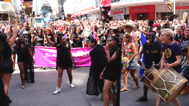 BLMToronto is the honoured group in the celebrations but they hijack the event and make demands to the executive committee of Pride Toronto