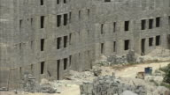WS HA PAN Block of abandoned construction of apartment buildings / Caracas, Miranda, Venezuela