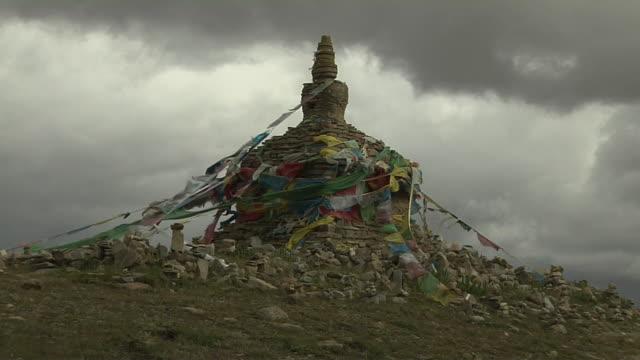 Block Shot Adinath Nirvana bhumi Lhasa Tibet China