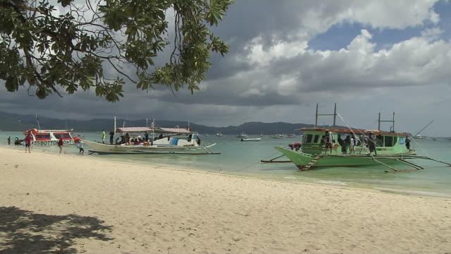 Block Shot Beach Boracay Philippines