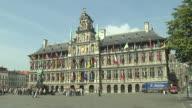 Block Shot City Hall Antwerp Belgium