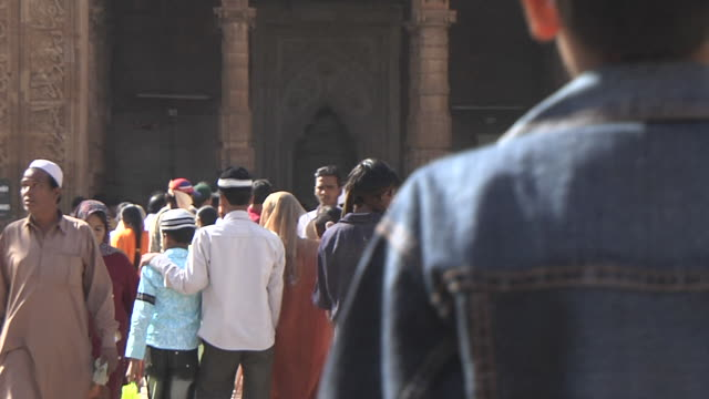Block Shot Crowd Dhai Din ka Jhopda Ajmer Rajasthan India