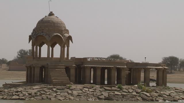 Block Shot Gadisar Lake Jodhpur Rajasthan India