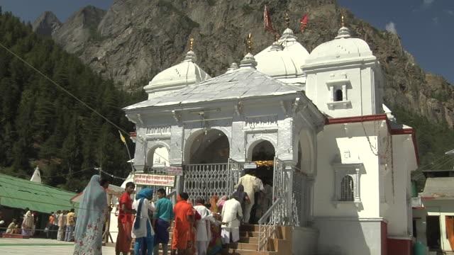 Block shot gangotri temple gangotri uttarakhand