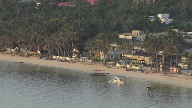 Block Shot Sea Coast Boracay Aklan Philippines