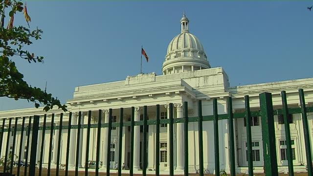 Block Shot Town Hall Colombo Western Province Sri Lanka