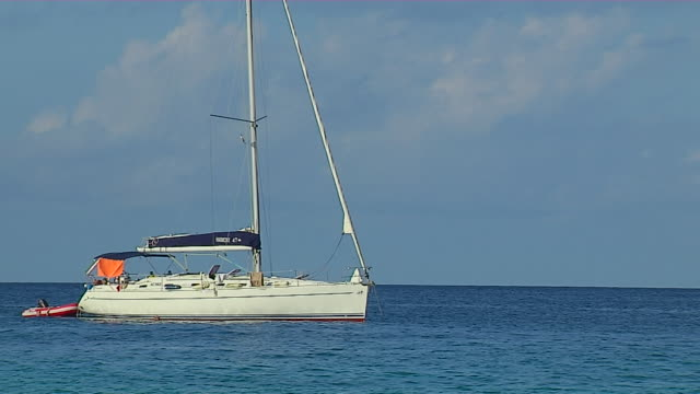 Block Shot Yacht Praslin Victoria Mahe Seychelles