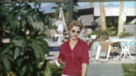 Blonde In Palm Springs 1950's