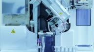 Blut test-Maschine im Labor