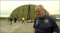 Bloodhound rocket car and interviews Noble interview SOT on concept of the project creating new generation of scientists and engineers PHOTOGRAPHY...