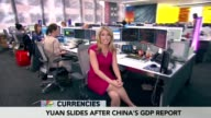 Bloomberg TV 1200 show 'Lunch Money' featuring opening segment 'The Whip' with Anchor Stephanie Ruhle Markets reporter Dominic Chu Currencies...