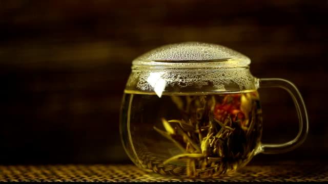 Blossoming Tea.