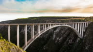 Bloukrans Bridge, Natures Valley, Western Cape, South Africa / bungee jumping