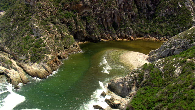 Bloukrans River And Bridge - Eastern & Western Cape  - Aerial View - Eastern Cape,  South Africa