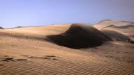 Blowind Sand dunes