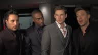 Blue Anthony Costa Simon Webbe Duncan James and Lee Ryan on Eurovision the odds on their future on appeal in Europe at the GAME British Academy Video...