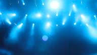 Sfondo blu luci