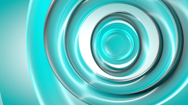 (Loop)  Blue Curves Abstraction-HD background animation