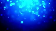 Blue defocused Particles