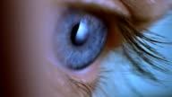 Blaues Auge Makro 2