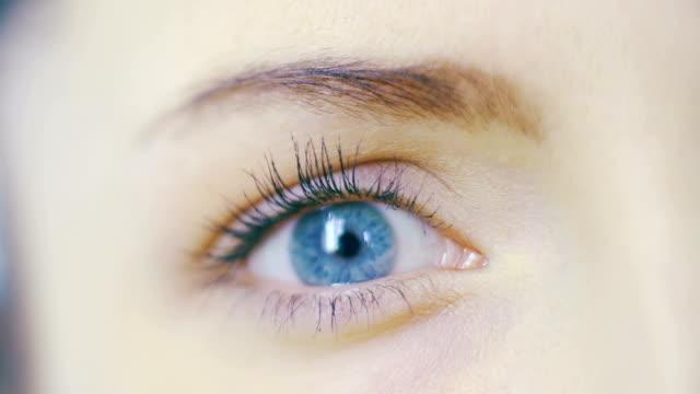 Blaue Auge