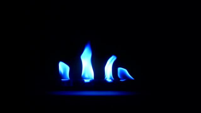 Blaue flame
