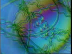 T/L blue green algae filaments moving (Oscillatoriales); procaryote cell