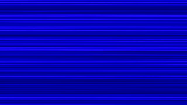 Blue Horizontal Lines Background Loop