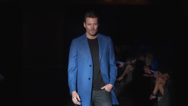 CLEAN Blue Jacket Fashion Show at Pier 59 on February 01 2017 in New York City