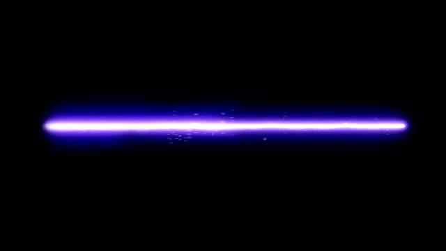 Blaue Laser Strahl