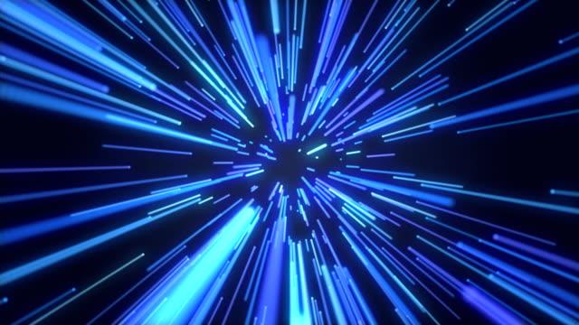 Blue Licht Streifen