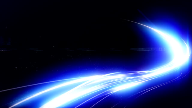Blue leichte Bewegungen