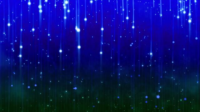 Blue Magical Particles