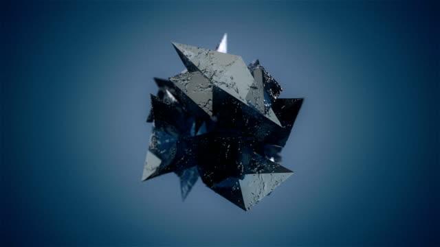 Blue Mineral mit alpha