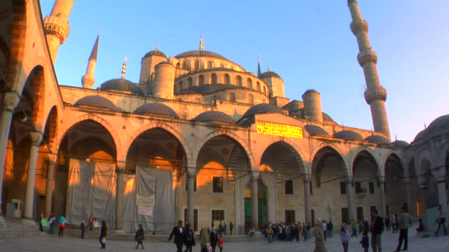 MS LA Blue Mosque at sunset, Istanbul, Turkey