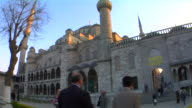 MS Blue Mosque at sunset, Istanbul, Turkey