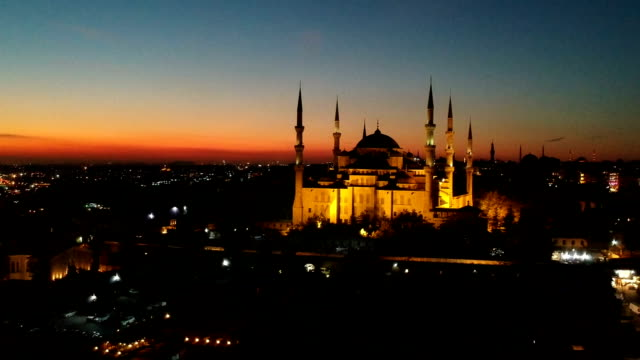 Blue Mosque in Twilight